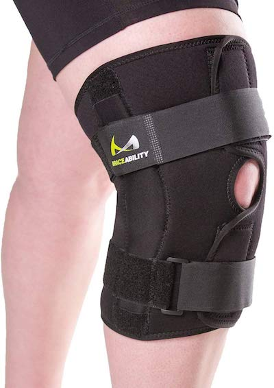 plus size knee brace review