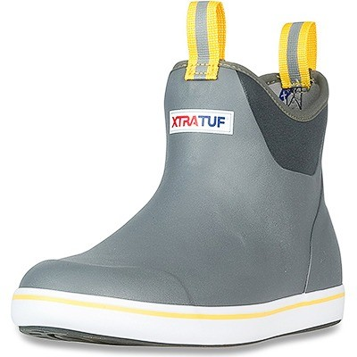 XTRATUF Performance Series 6'' Men's Full Rubber Ankle Deck Boots